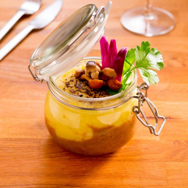 Parmentier de canard - Photographe culinaire Strasbourg 67 Alsace
