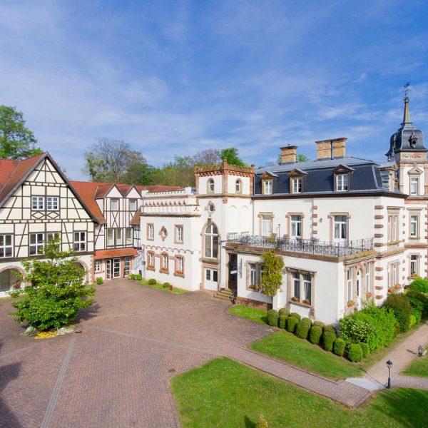 Le Château de l'Île - Prise de vue aérienne - Photographe Strasbourg 67 Alsace