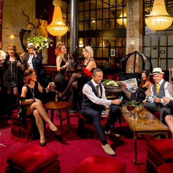 Communication MaxiFlash - Ambiance Gatsby le magnifique - Photographe Alsace