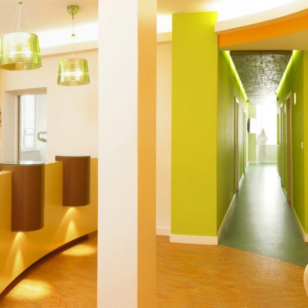 Complexe d'orthodontie à Haguenau - Présentation de lieux - Décoration d'intérieur