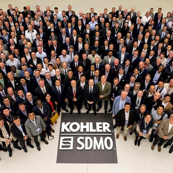 KOHLER-SDMO - Groupe de 300 personnes au Palais des Congrès - Reportage événementiel