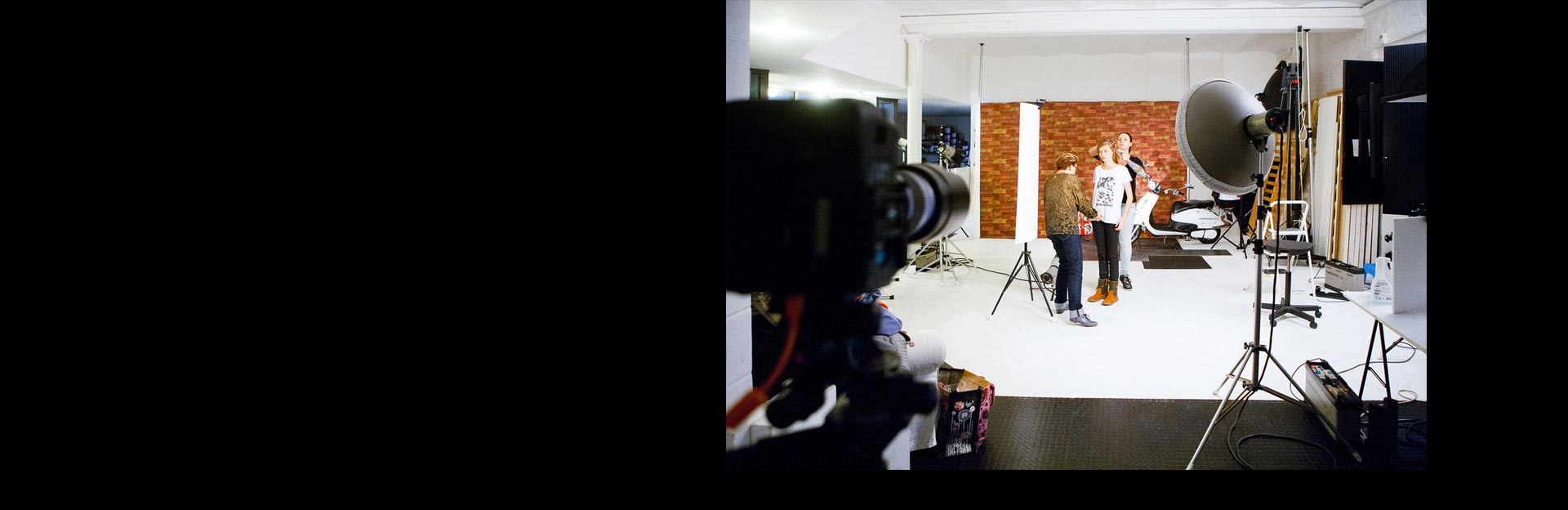 Studio photo Strasbourg Bas-Rhin 67 - Shooting mode